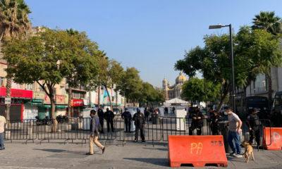 Continúa resguardo a Basílica de Guadalupe, previo a mañanitas a la Virgen