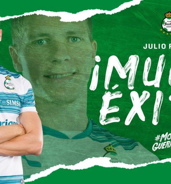 Juio Furch se va de Santos. Foto: Twitter
