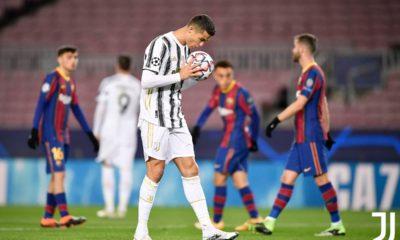 Juventus le pegó al Barcelona. Foto: Twitter Juventus