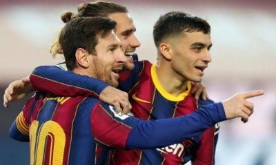 Koeman molesto por las críticas en contra de Messi. Foto: Twitter Barcelona