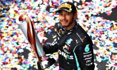 Lewis Hamilton, positivo de Covid-19. Foto: Twitter Lewis Hamilton