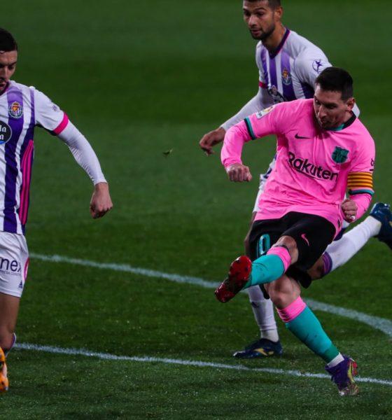 Messi histórico. Foto: Barcelona