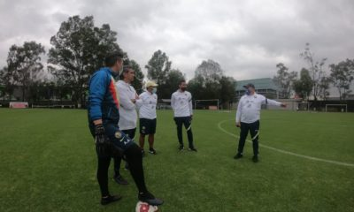 Miguel Herrera se despide del América. Foto: Twitter Miguel Herrera