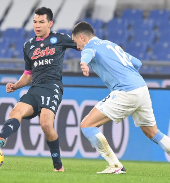 Napoli le gana la partida a la Juventus. Foto: Napoli