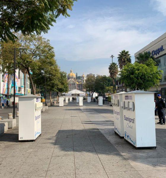 No van peregrinos a la Basílica de Guadalupe. Foto: Israel Lorenzana