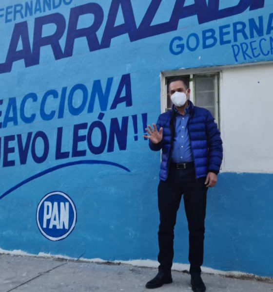 Vienen cosas grandes para Nuevo León: Fernando Larrazábal