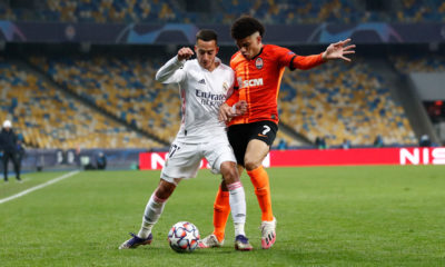 Shakhtar le pegó al Real Madrid. Foto: Twitter Real Madrid