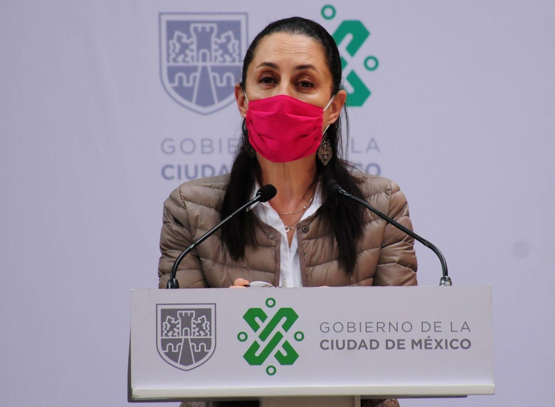 Sheinbaum reconoce etapa crítica en la CDMX por el covid. Foto: Cuartoscuro