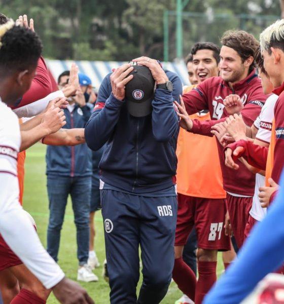 Siboldi, Cloaroscuro en la Primera División. Foto: Twitter Cruz Azul