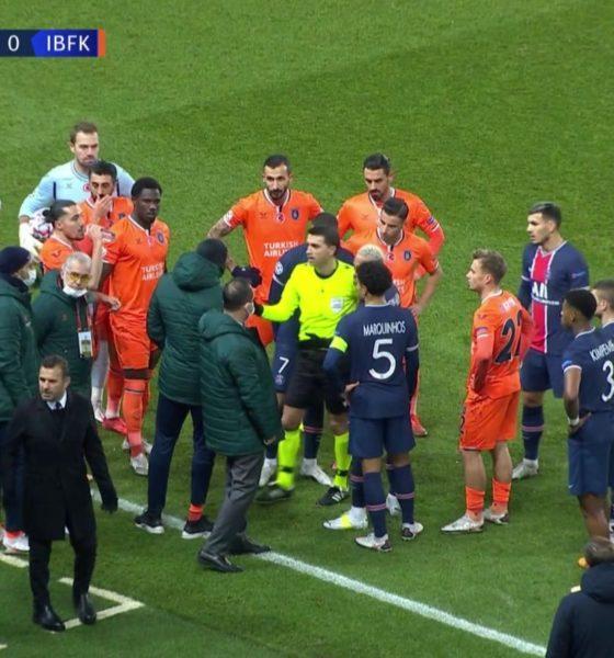 Suspenden partidos de Champions por actos racistas. Foto: Twitter