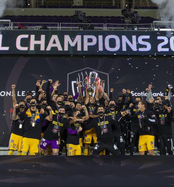 Tigres el monarca de la Concachampions. Foto: Twitter The Champions