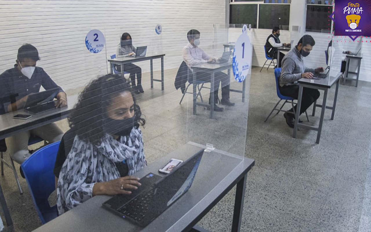 UNAM amplía cobertura de computadoras e internet gratis durante pandemia