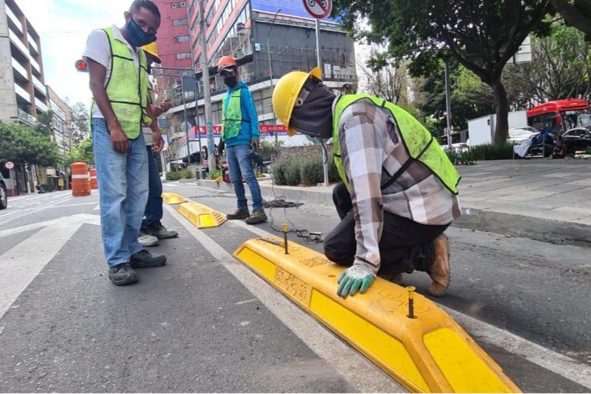 Abren ciclovía en alcaldías Cuauhtémoc y Benito Juárez