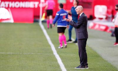 Zidane sin temor a ser despedido. Foto: Twitter Real Madrid
