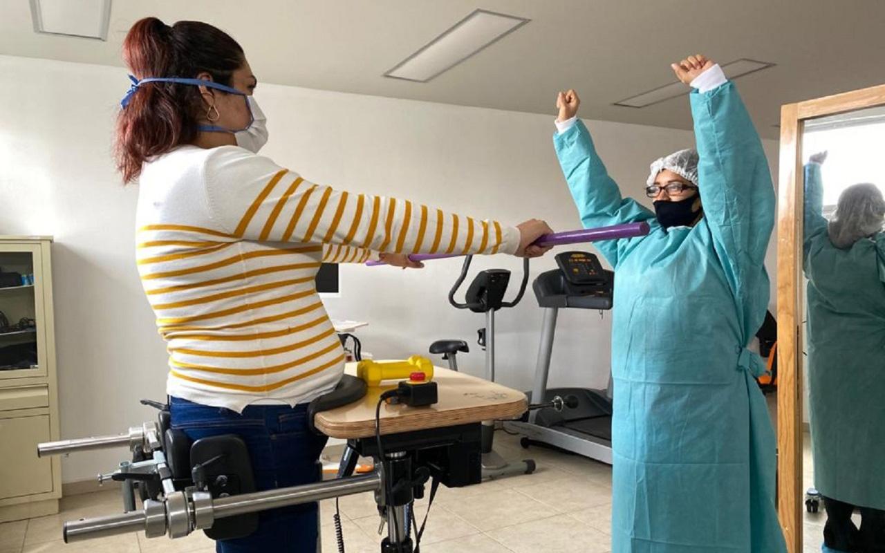 Rehabilitan a pacientes con secuelas post-Covid