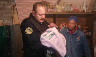 Policías asistieron a una mujer en el nacimiento de su bebé