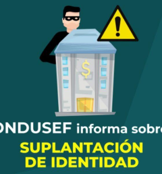condusef advirtió sobre suplantación de indentidad a financieras