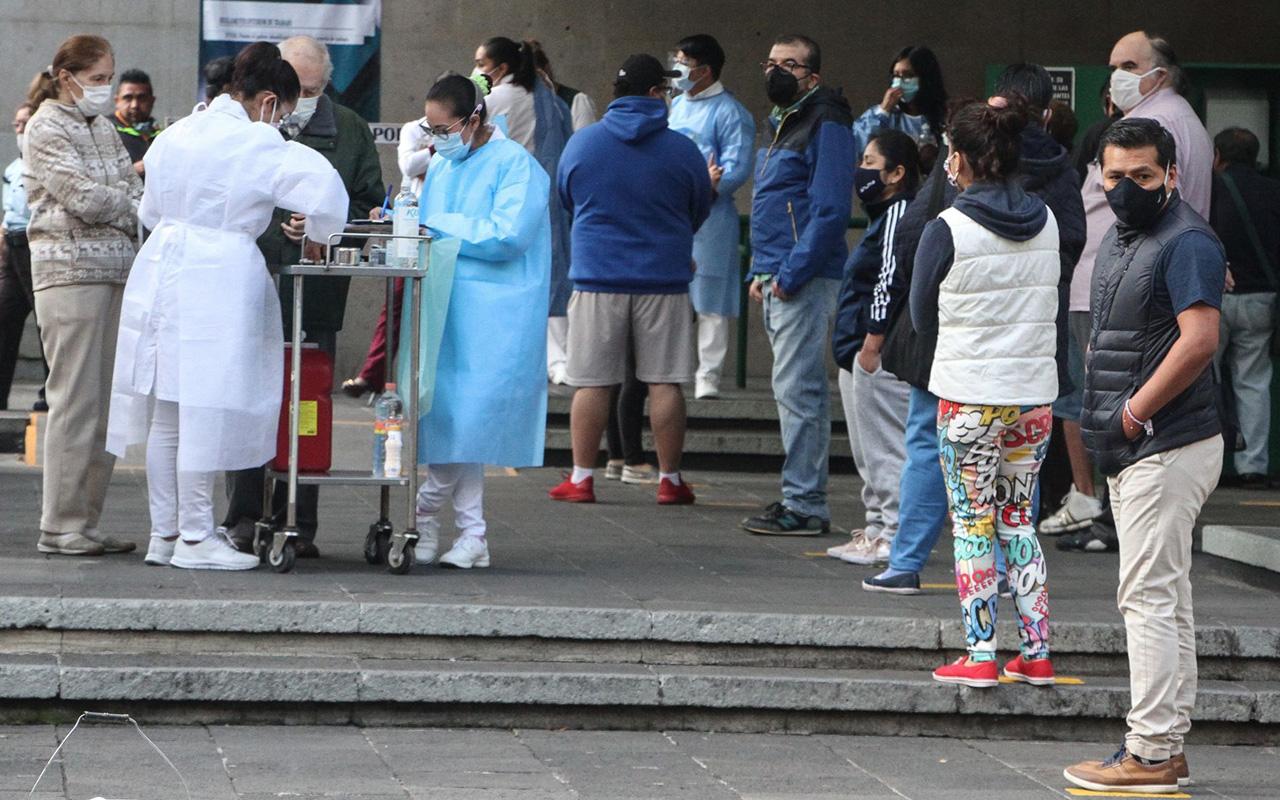 El viernes habrá un simulacro de vacunación contra Covid en México
