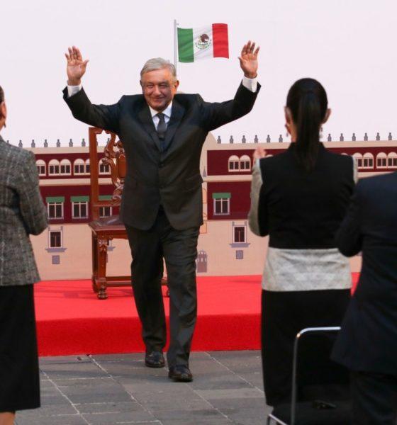 """""""El 71 por ciento de los mexicanos desean que sigamos gobernando"""": AMLO"""