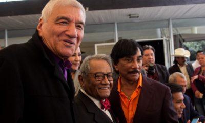 Martín Urieta con Armando Manzanero