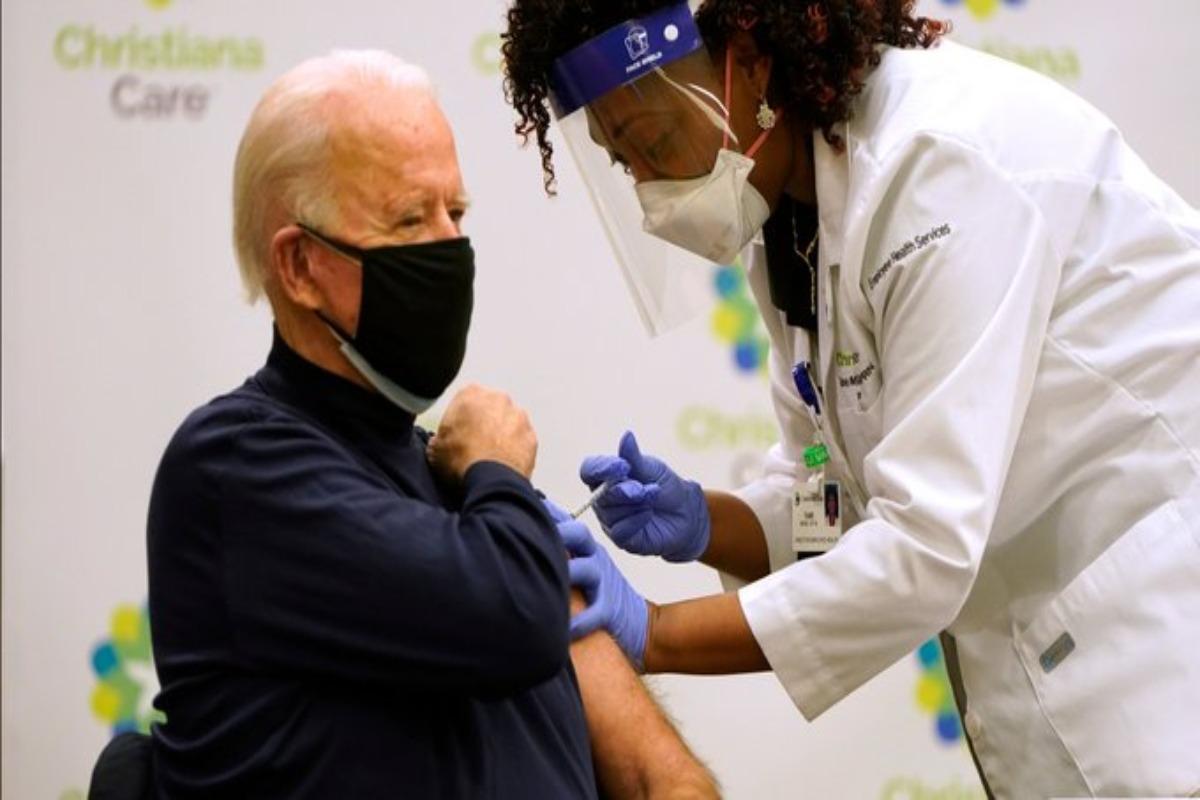 Joe Biden y su esposa ya se vacunaron contra Covid-19