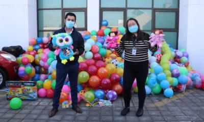 Recolectan juguetes para cientos de niñas y niños en Edomex