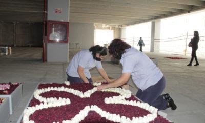 Artesanos de Huamantla rinden homenaje a la Virgen de Guadalupe