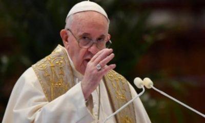 Papa Francisco ya fue vacunado contra el coronavirus