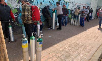 Sigue la demanda de llenado de tanques de oxígeno en CDMX