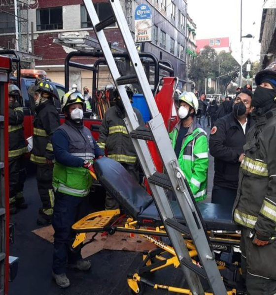 Incendio en instalaciones del Metro; un muerto y lesionados