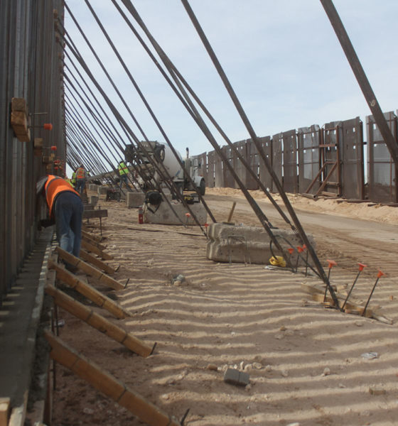 Biden cancelará construcción del muro fronterizo con México