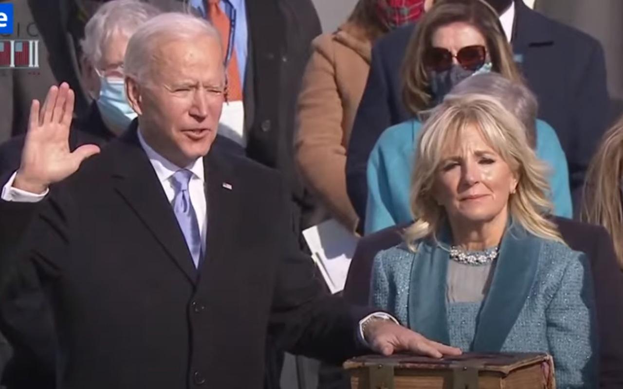 Biden jura como Presidente y convoca a la unidad en EU
