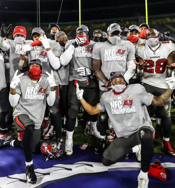 Buccaneers y Chiefs disputarán el Super Bowl LV. Foto: Twitter Tampa Bay