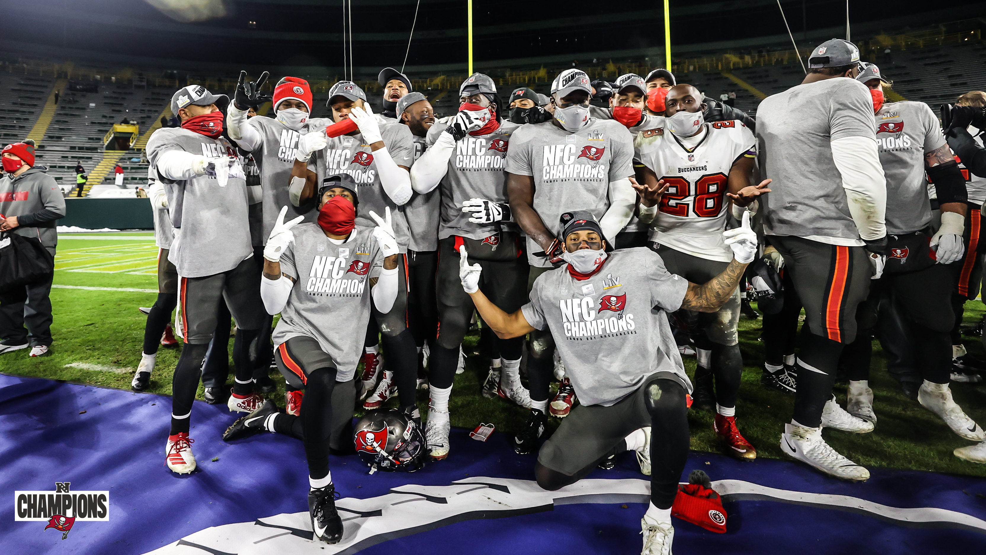 Buccaneers y Chiefs disputarán el Super Bowl LV. Foto: Twitter Tampa Bay