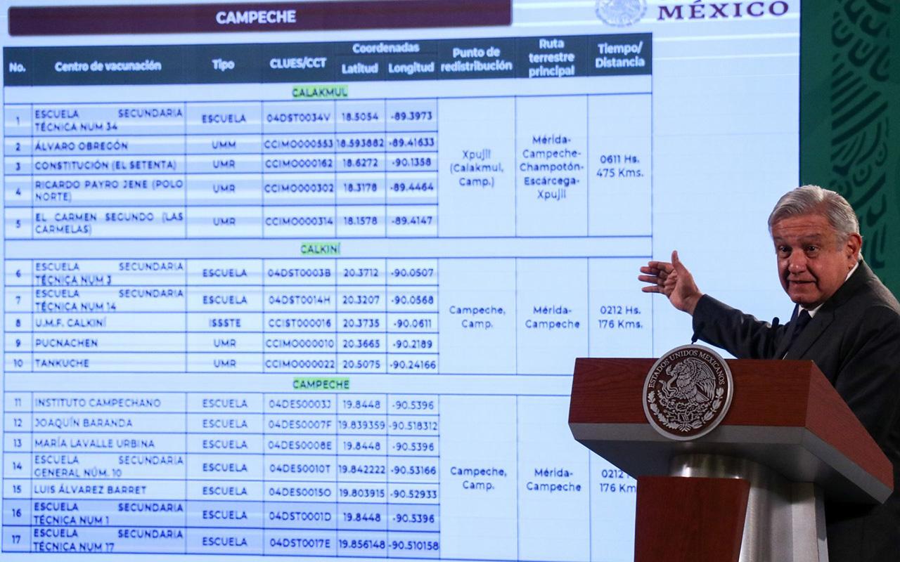 Vacunan a maestros en Campeche para que regresen a clases