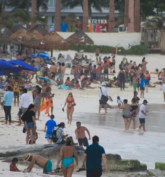 Cancún regresa a color naranja por contagios de Covid