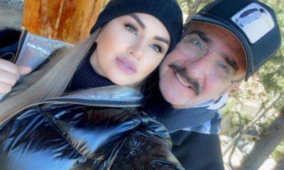 Vicente Fernández Jr. y su novia