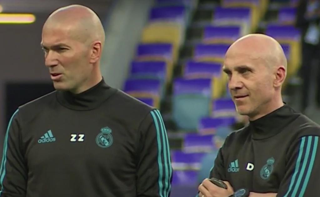 El técnico del Real Madrid aún no se recupera del Covid. Foto: Twitter Real Madrid