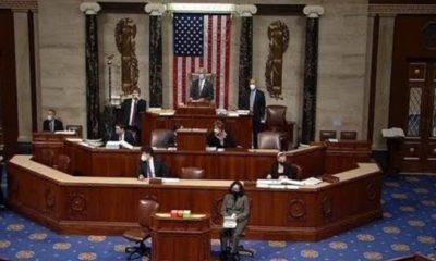 """Aprueban 'impeachment' contra Trump por """"incitación a la insurrección"""""""