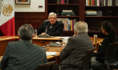 Estable López Obrador tras sufrid de Covid. Foto: Twitter