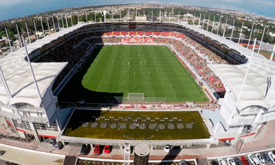 Estadio Victoria, casa del Necaxa, abre sus puertas. Foto: Twitter Necaxa