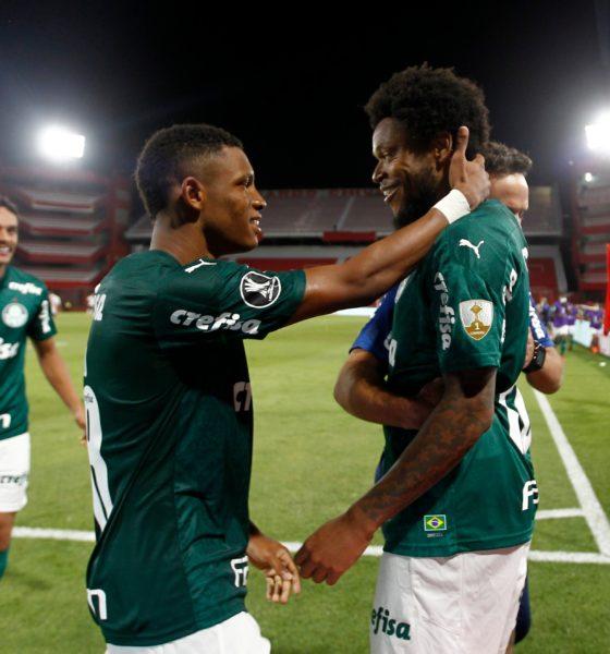 Humilla Palmeiras al River Plate. Foto: Twitter Copa Libertadores