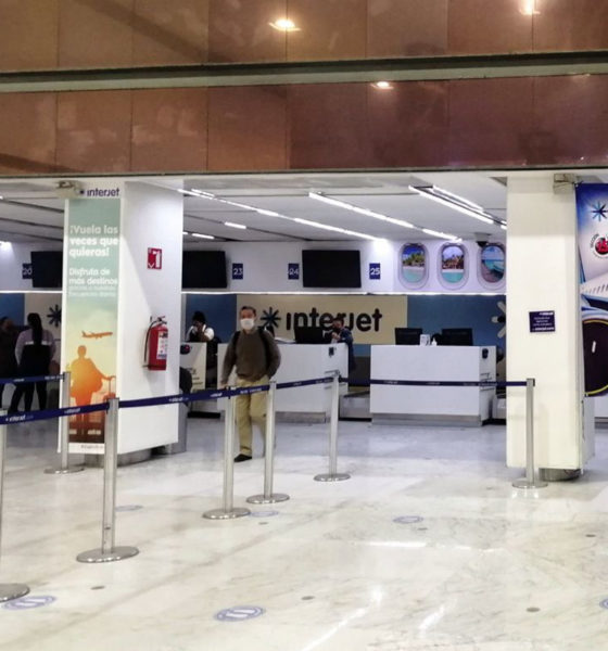 Trabajadores de Interjet se van a huelga por falta de pagos
