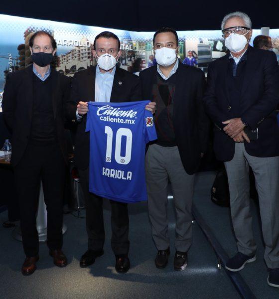 Jaime Ordiales, positivo por Covid-19. Foto: Twitter Cruz Azul