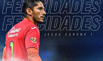 Jesús Corona cumple 40 años de edad. Foto: Twitter Cruz Azul