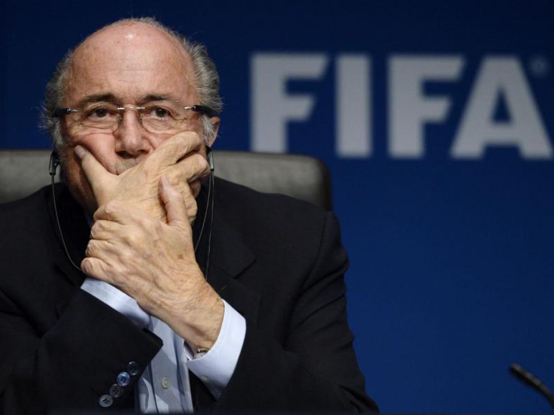 Josep Blatter grave. Foto: Twitter