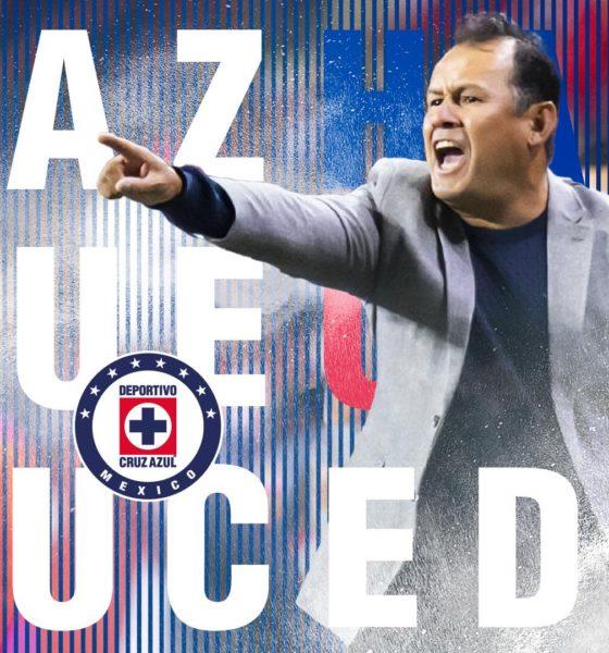 Juan Reynoso quiere curar las heridas. Foto: Twitter Cruz Azul