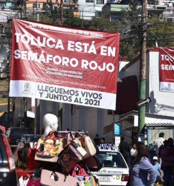 Estado de México seguirá en semáforo rojo por Covid-19