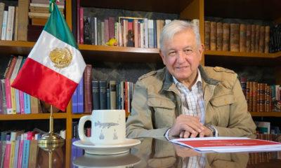López Obrador padece de Covid. Foto: Twitter López Obrador