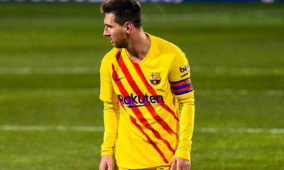 Messi, fuera del once ideal de L'Équipe. Foto: twitter Barcelona